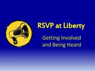 RSVP at Liberty