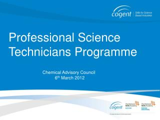 Professional Science Technicians Programme