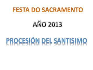 FESTA DO SACRAMENTO