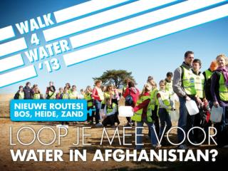 Loop mee met Walk4Water!