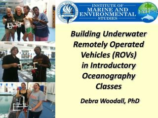 Building Underwater Remotely Operated Vehicles (ROVs)  in Introductory Oceanography Classes