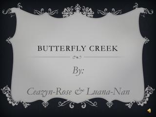 Butterfly creek