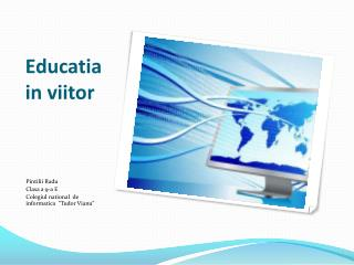 Educatia in viitor