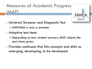 Measures of Academic Progress (MAP)