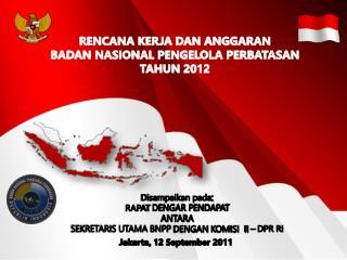 Jakarta,  12 September 201 1