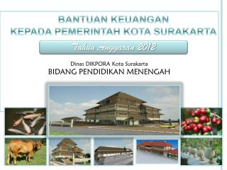 Dinas DIKPORA Kota Surakarta BIDANG PENDIDIKAN MENENGAH