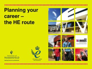 Planning your career –  the HE route