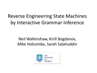 Reverse Engineering State Machines by Interactive Grammar Inference
