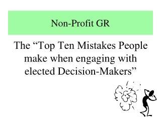 Non-Profit GR