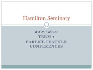 Hamilton Seminary