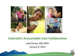 Judy Zerzan, MD, MPH January 9, 2014