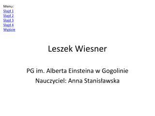 Leszek  Wiesner