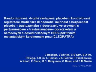 Baselga et al .  N  Engl  J Med  2011