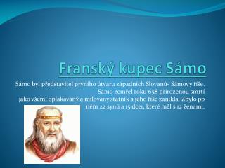 Franský kupec Sámo