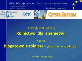 Poznań,  16 luty 2012 r.