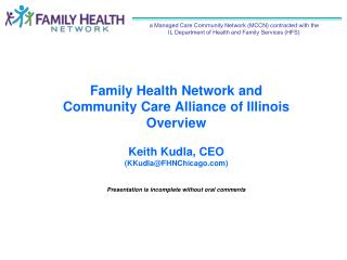 Sinai Health System is one of five Family Health Network Sponsors