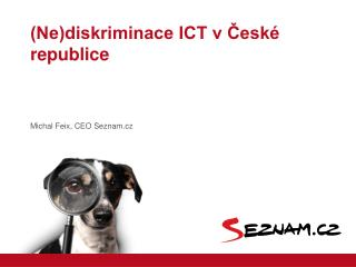 (Ne)diskriminace ICT v ?esk� republice