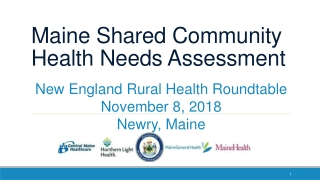 Community Health Needs Assessment 2010   2011