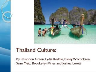 Thailand Culture: