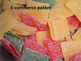 E-commerce pakket