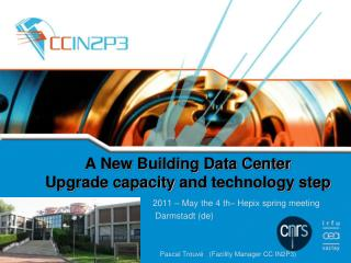 A New Building Data Center  Upgrade capacity  and  technology step