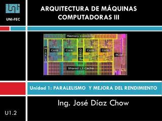 Ing. José Díaz  Chow