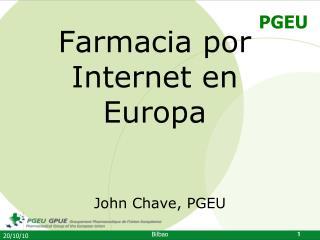Farmacia  por Internet en Europa