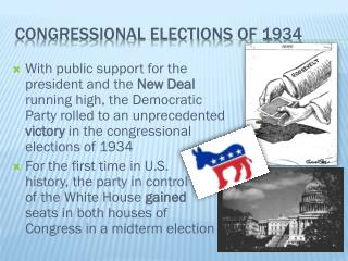 Congressional elections of 1934