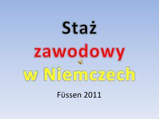 F ϋ ssen 2011