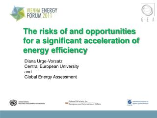 The risks of and opportunities for a significant acceleration of energy efficiency