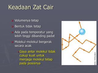 Keadaan Zat Cair