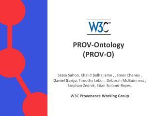 PROV- Ontology (PROV-O)