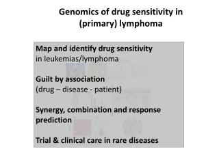 Genomics of drug sensitivity  in  ( primary )  lymphoma