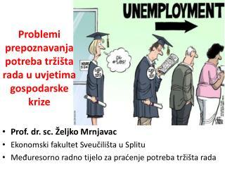 Problemi prepoznavanja potreba tržišta rada u uvjetima gospodarske krize