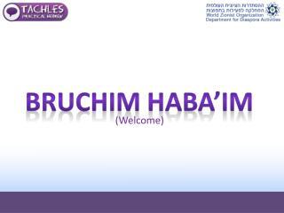 Bruchim  HABA'IM