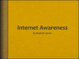 Internet Awareness
