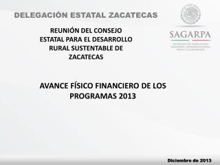 DELEGACI�N ESTATAL ZACATECAS