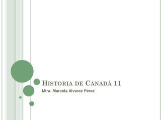 Historia de Canadá 11
