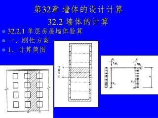 第 32 章 墙体的设计计算