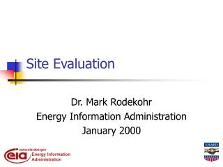 Site Evaluation