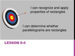 Lesson 8-4