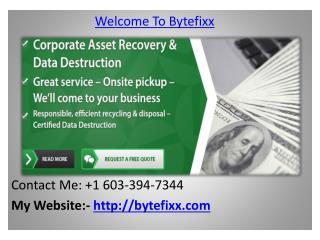 Asset Recovery, Asset Management
