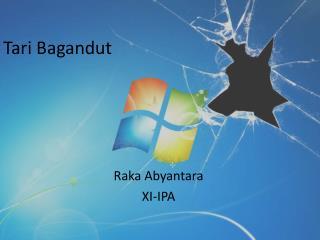 Tari Bagandut