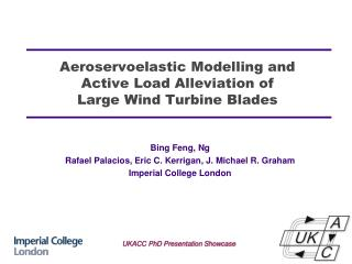 Aeroservoelastic Modelling and  Active  Load Alleviation of  Large  Wind Turbine Blades