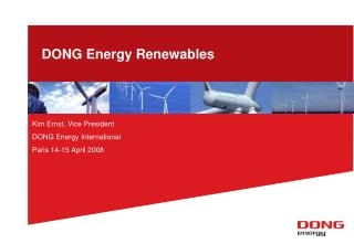 DONG Energy Renewables
