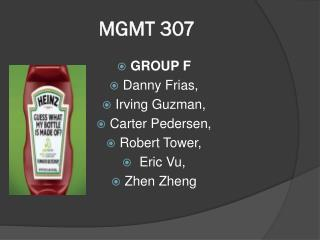 MGMT 307
