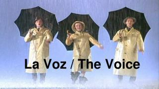 La Voz / The Voice