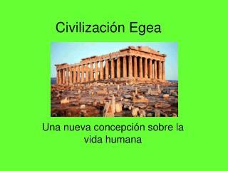 Civilizaci n Egea