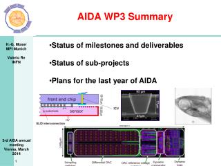 AIDA WP3 Summary