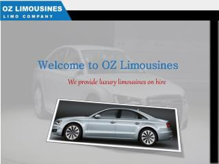 Hire a Sydney based airport limousines by placing an online